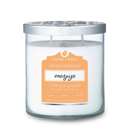 Citrus & Ginger Aromatherapy Candle