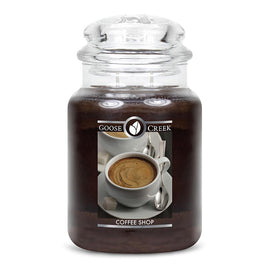 Coffee Shop Large Jar Candle