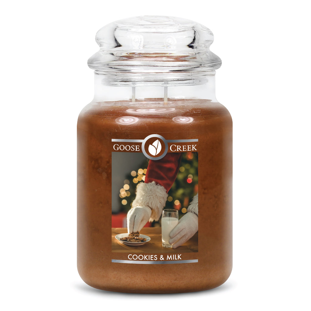 Cookies & Milk Large Jar Candle