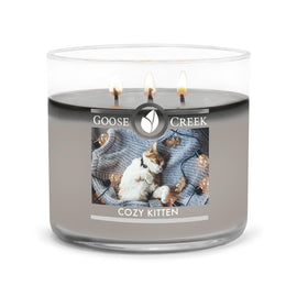 Cozy Kitten Large 3-Wick Candle