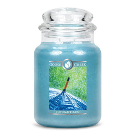 Cucumber Rain Large Jar Candle
