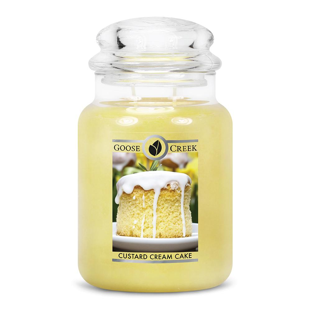 Custard Cream Cake Large Jar Candle