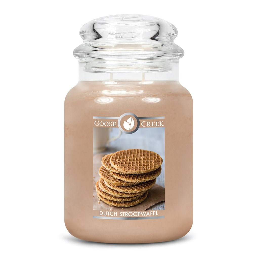 Dutch Stroopwafle Large Jar Candle