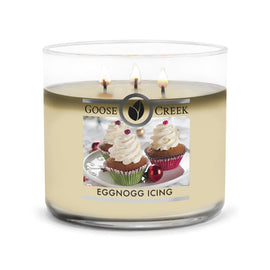 Egg Nog Icing Large 3-Wick Candle