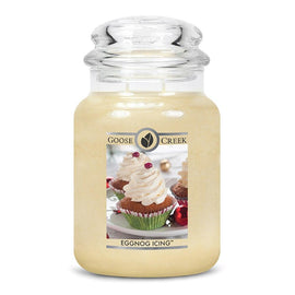 Egg Nog Icing Holiday Jar Candle