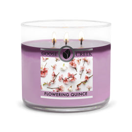 Flowering Quince Large 3-Wick Candle