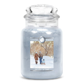 Frozen in Time Large Jar Candle