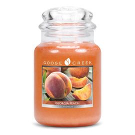 Georgia Peach Large Jar Candle