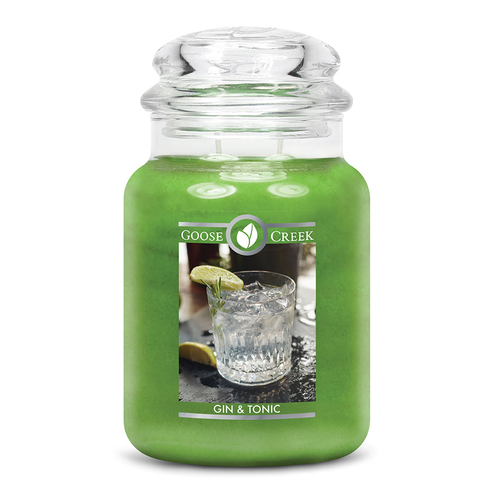 Gin & Tonic Large Jar Candle
