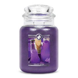 Grape Soda Large Jar Candle