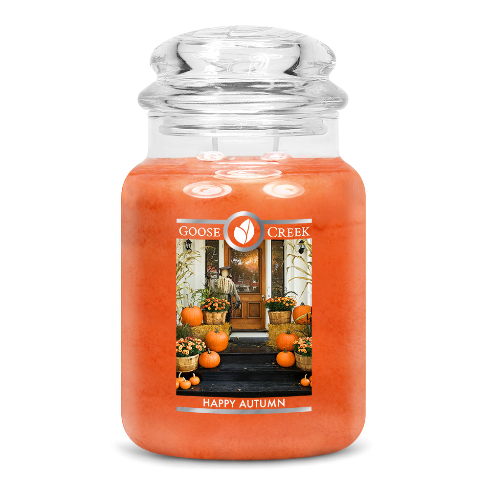 Happy Autumn Large Jar Candle