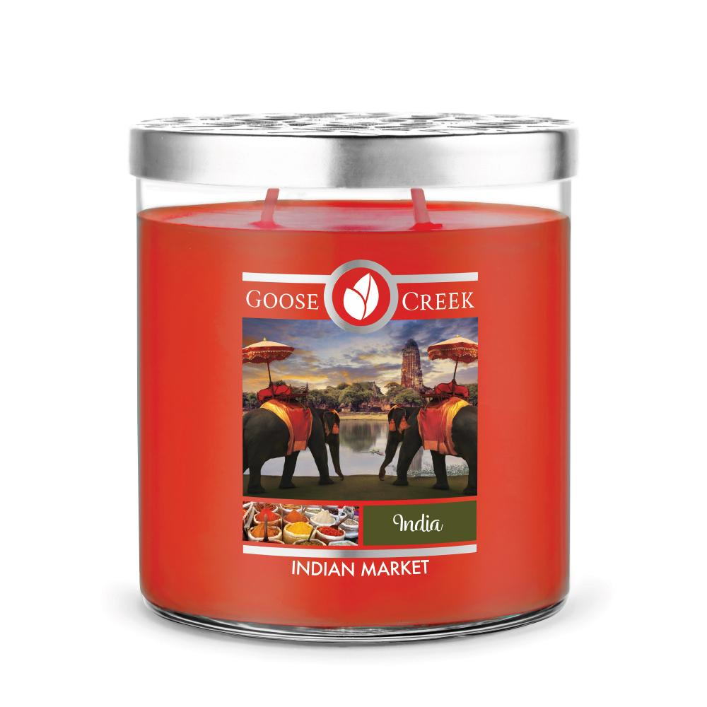 Indian Market Large Jar Candle
