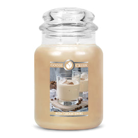 Irish Cream Swirl Large Jar Candle