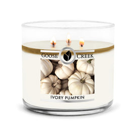 Ivory Pumpkin Large 3-Wick Candle