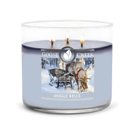Jingle Bells Large 3-Wick Candle