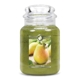 Juicy Pear Large Jar Candle