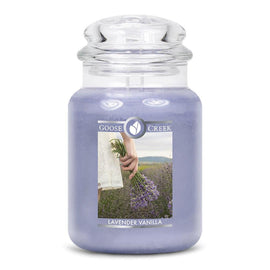 Lavender Vanilla Large Jar Candle