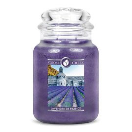 Lavender de France Large Jar Candle
