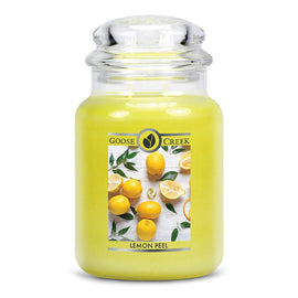 Lemon Peel Large Jar Candle