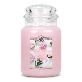 Love Letters Large Jar Candle