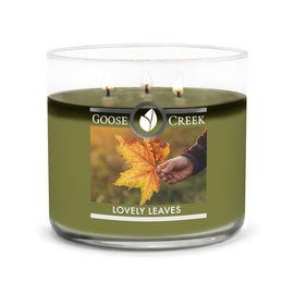 Lovely Leaves Large 3-Wick Candle
