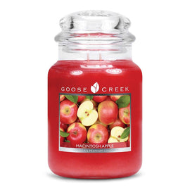 Macintosh Apple Large Jar Candle