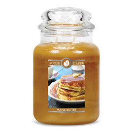 Maple Butter Large Jar Candle