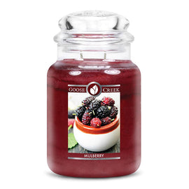 Mulberry Large Jar Candle