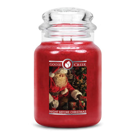 Night Before Christmas Large Jar Candle