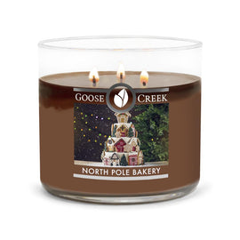 North Pole Bakery Large 3-Wick Candle