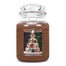 North Pole Bakery Large Jar Candle