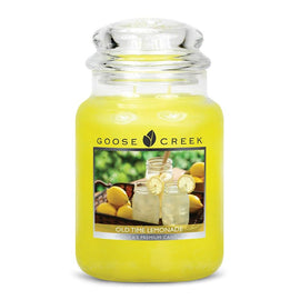 Old Time Lemonade Large Jar Candle