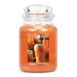 Orange Cream Soda Large Jar Candle