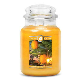 Orange Grove Tree Large Jar Candle