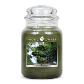 Patchouli Leaves Large Jar Candle