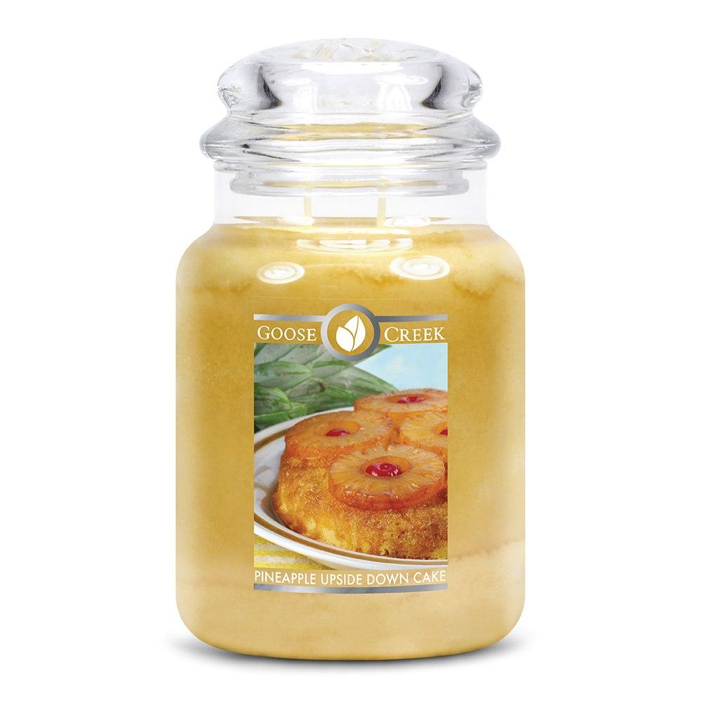 Pineapple Upside Down Cake Large Jar Candle