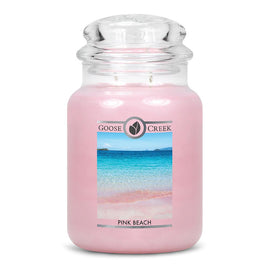 Pink Beach Large Jar Candle