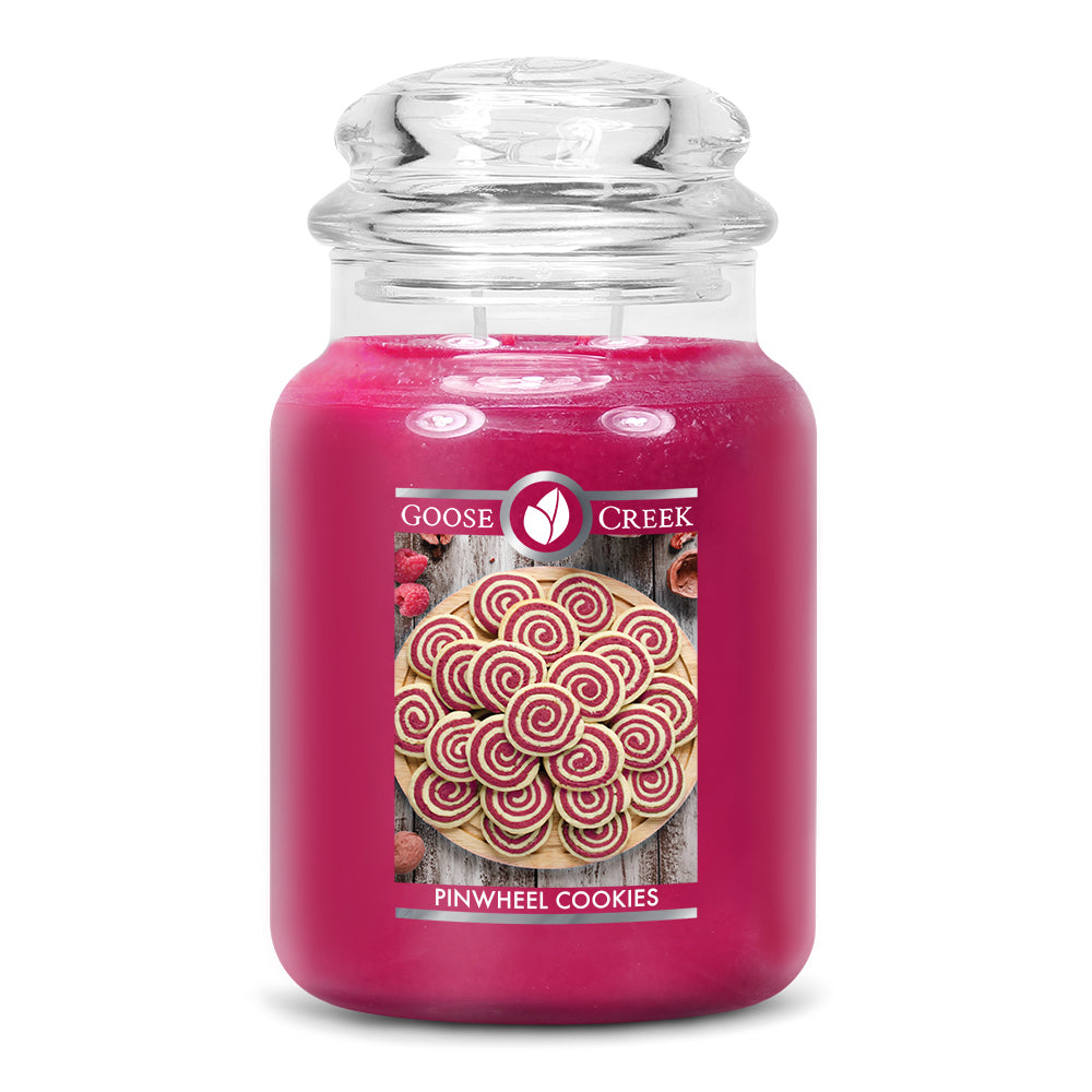 Pinwheel Cookies Large Jar Candle