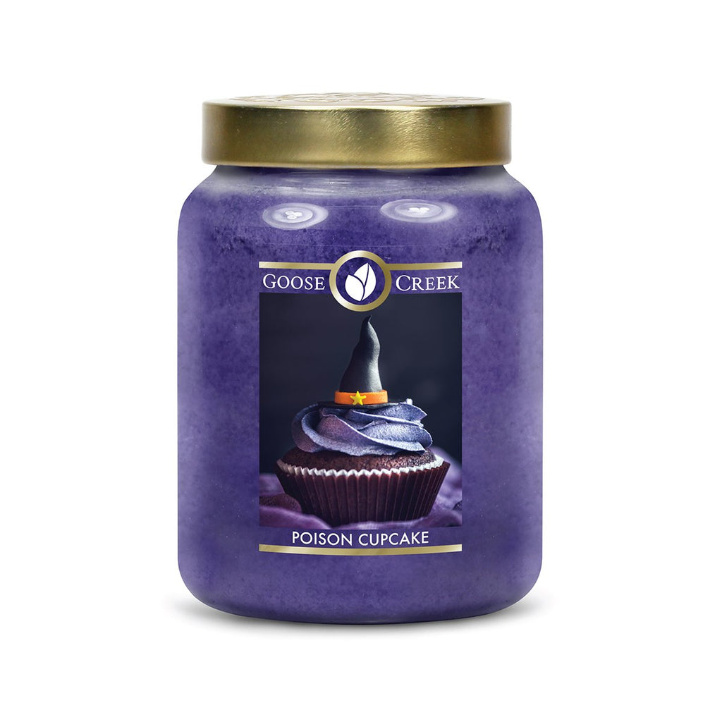 Poison Cupcake Large Jar Candle