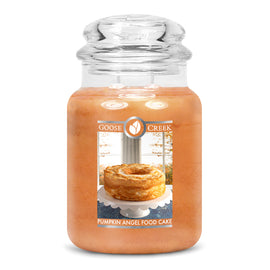 Pumpkin Angel Food Cake Large Jar Candle