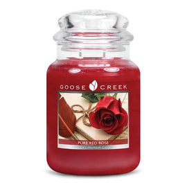 Pure Red Rose Large Jar Candle