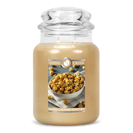 Salted Caramel Popcorn Large Jar Candle