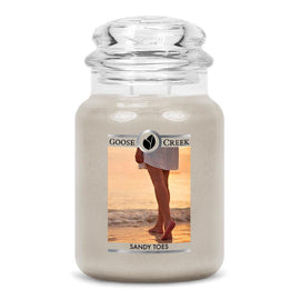 Sandy Toes Large Jar Candle