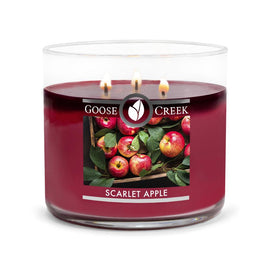 Scarlet Apple Large 3-Wick Candle
