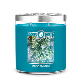 Snowy Branches 16oz Large Jar Candle