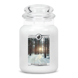 Sparkling Woods Large Jar Candle