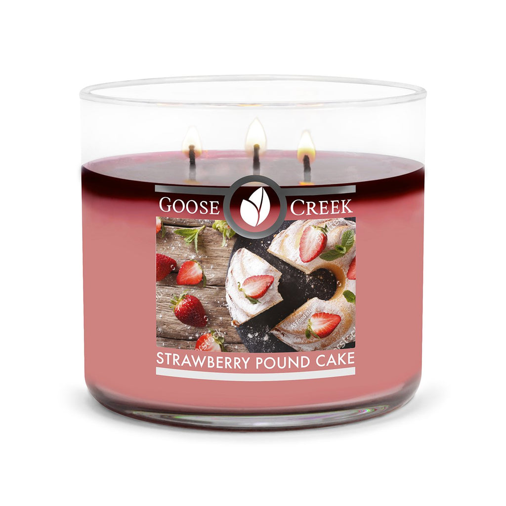 Strawberry Pound Cake Large 3-Wick Candle