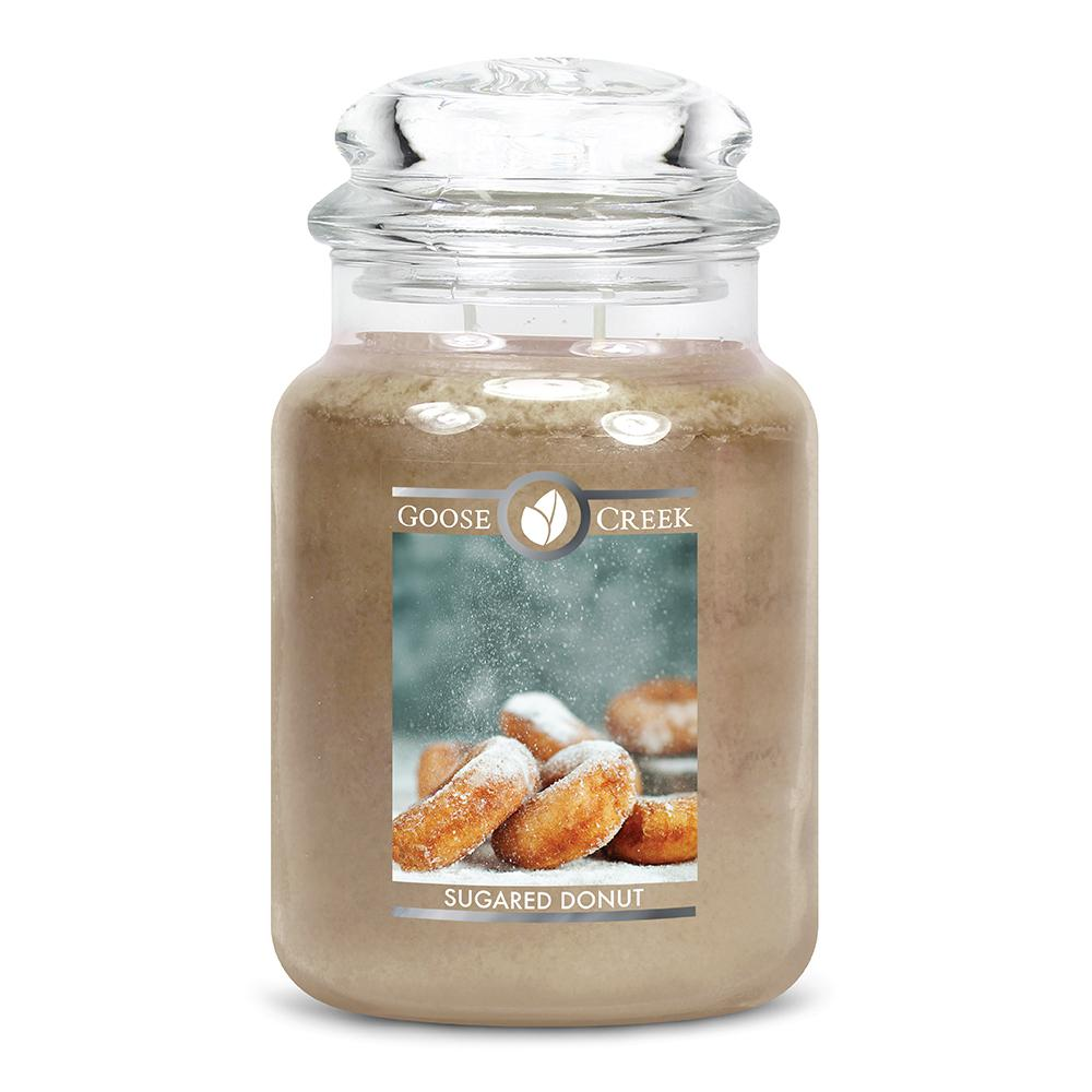 Sugared Donut Large Jar Candle
