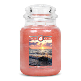 Sunset Sparkle Large Jar Candle
