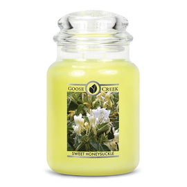Sweet Honeysuckle Large Jar Candle